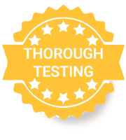 Thorough Testing Badge